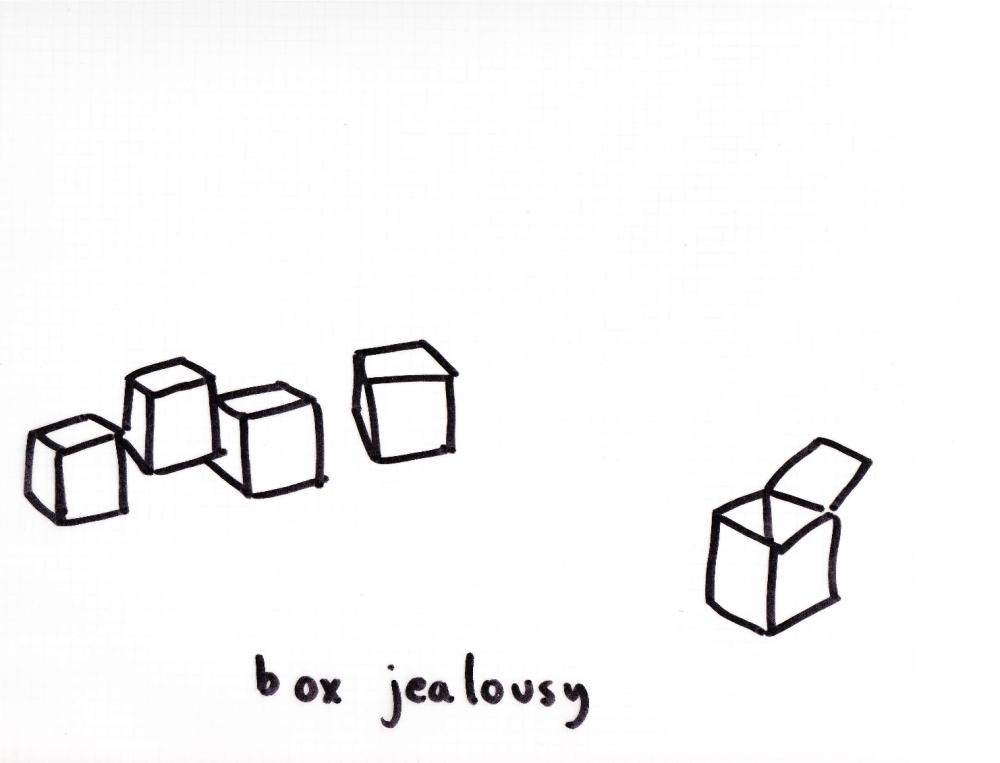 box jealousy