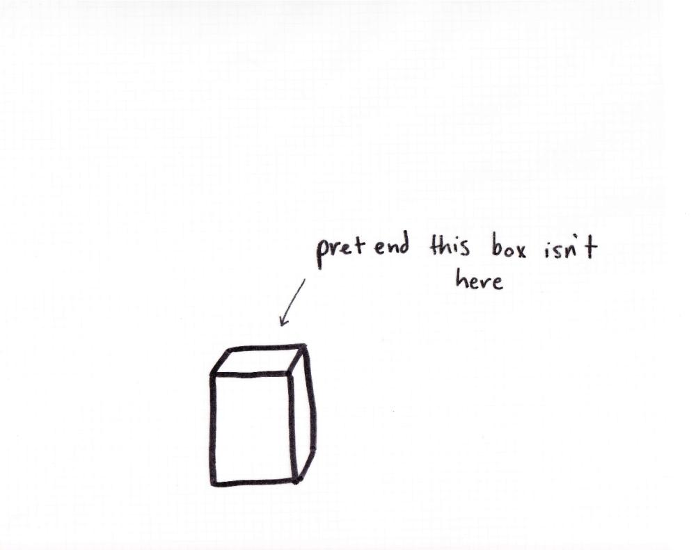 pretend this box isn't here